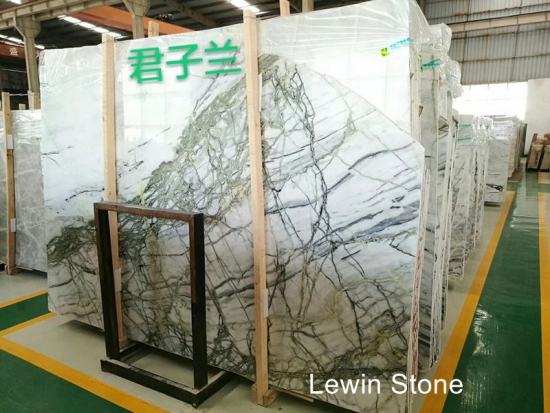 Bush blue  Marble Slab