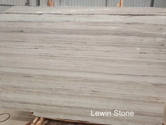 China Wooden crystal  polished marble slab