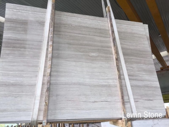 Serpeggiante white slab