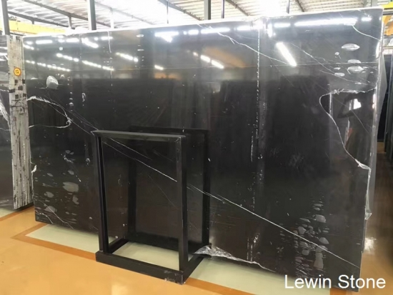 china venta caliente mármol marquina negro natural pulido